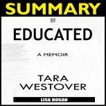 Summary of Educated A Memoir by Tara Westover, Lisa Hogan