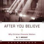 After You Believe Why Christian Character Matters, N. T. Wright