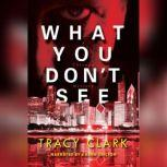 What You Don't See, Tracy Clark