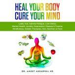 Heal Your Body, Cure Your Mind Leaky Gut, Adrenal Fatigue, Liver Detox, Mental Health, Anxiety, Depression, Disease & Trauma. Mindfulness, Holistic Therapies, Diet, Nutrition & Food, Ameet Aggarwal