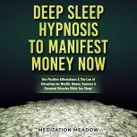 Deep Sleep Hypnosis to Manifest Money NOW Use Positive Affirmations & The Law of Attraction for Wealth, Money, Success & Financial Miracles While You Sleep!, Meditation Meadow