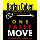 One False Move A Myron Bolitar Novel, Harlan Coben