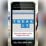 Tweak It Make What Matters to You Happen Every Day, Cali Williams Yost