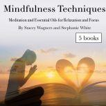 Mindfulness Techniques Meditation and Essential Oils for Relaxation and Focus, Stacey Wagners