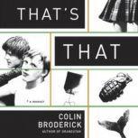 Thats That A Memoir, Colin Broderick