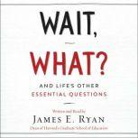 Wait, What? And Life's Other Essential Questions, James E. Ryan