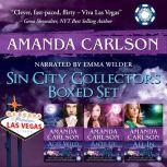 Sin City Collectors Boxed Set Aces Wild, Ante Up, All In, Amanda Carlson