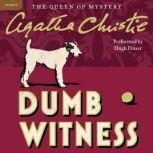 Dumb Witness A Hercule Poirot Mystery, Agatha Christie