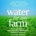 Water for Any Farm Applying Restoration Agriculture Water Management Methods on Your Farm, Mark Shepard