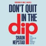 Don't Quit in the Dip Stay Focused on God's Promises for You, Shaun Nepstad