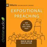 Expositional Preaching How We Speak God's Word Today, David R. Helm