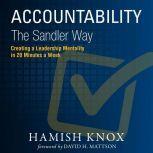 Accountability the Sandler Way, Hamish Knox