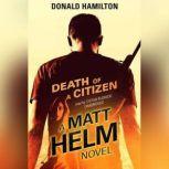Death of a Citizen, Donald Hamilton