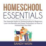 Homeschool Essentials The Essential Guide on Homeschooling for Beginners, Learn the Benefits and Expert Techniques on How to Homeschool Your Kids, Sandy Wain