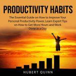 Productivity Habits The Essential Guide on How to Improve Your Personal Productivity Power, Learn Expert Tips on How to Get More Hours and Work Done in a Day, Hubert Quinn