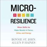 Micro-Resilience Minor Shifts for Major Boosts in Focus, Drive, and Energy, Bonnie St. John