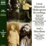 Great Historical Shakespeare Recordings, William Shakespeare