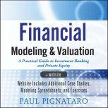 Financial Modeling and Valuation A Practical Guide to Investment Banking and Private Equity, Paul Pignataro