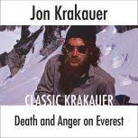 Death and Anger on Everest, Jon Krakauer