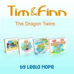 Tim and Finn the Dragon Twins Series Four-Book Collection, Leela Hope
