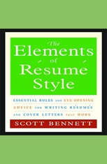 The Elements of Resume Style: Essential Rules for Writing Resumes and Cover Letters That Work - Audiobook Download