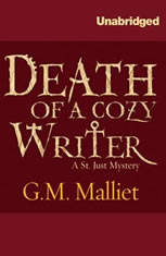 Death of a Cozy Writer: A St. Just Mystery - Audiobook Download