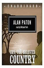 a review of alan patons novel cry the beloved country As soon as the book cry, the beloved country was published in 1948, it gained immediate fame and popularity among the nations world wide except for south africa until the author alan paton died in 1988, it was translated into twenty different languages and 15 million copies were sold.