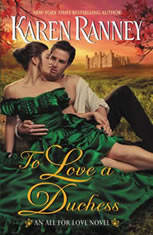 To Love a Duchess An All for Love Novel, Karen Ranney