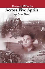 an analysis of across five aprilsby irene hunt We promote comprehension, analysis, and vocabulary  across five aprils - study guide  through irene hunt's civil war tale, students will learn: .