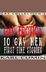 Gay Erotica  10 Gay Men First Time Stories (Gay Collection Book 3)
