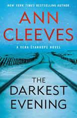 The Darkest Evening A Vera Stanhope Novel, Ann Cleeves