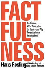 Factfulness: Ten Reasons We're Wrong About the Worldand Why Things Are Better Than You Think