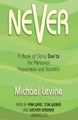 Never: A Book of Daily Donts for Personal Happiness and Success
