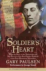 a book recommendation for gary paulsens soldiers heart