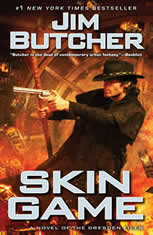 Dresden files audio book skin game by jim