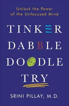 Tinker Dabble Doodle Try: Unlock the Power of the Unfocused Mind, Srini Pillay, M.D.