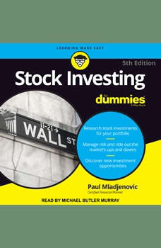 Stock Investing For Dummies: 5th Edition, Paul J. Mladjenovic