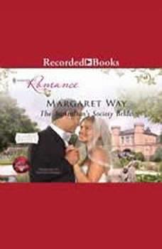 The Australian's Society Bride, Margaret Way