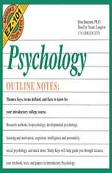 Barron's EZ101 Study Keys: Psychology, Don Baucum, Ph.D.