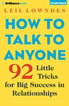 Download How To Talk To Anyone 92 Little Tricks For Big