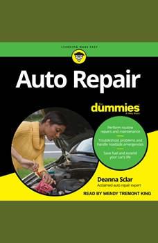 Auto Repair For Dummies: 2nd Edition, Deanna Sclar
