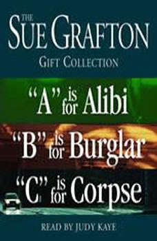 Sue Grafton ABC Gift Collection: A Is for Alibi, B Is for Burglar, C Is for Corpse, Sue Grafton