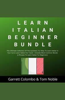 Learn Italian Beginner Bundle Collection, Garrett Colombo