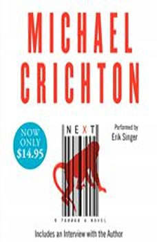 Next, Michael Crichton