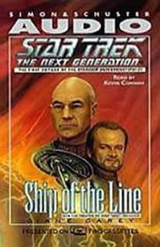 Star Trek Next Generation: Ship of Line, Diane Carey