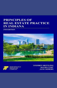 Principles of Real Estate Practice in Indiana 2nd Edition, Stephen Mettling