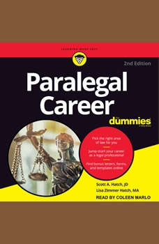 Paralegal Career For Dummies: 2nd Edition, Lisa Zimmer Hatch