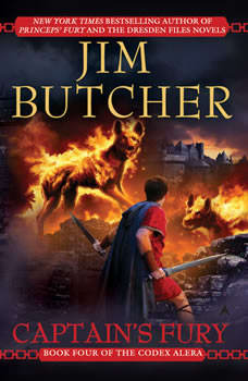 Captain's Fury: Book Four of the Codex Alera, Jim Butcher