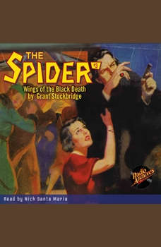 Spider #3 Wings of the Black Death, The, Grant Stockbridge
