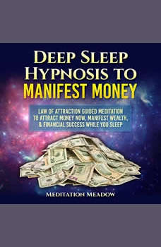 Deep Sleep Hypnosis to Manifest Money: Law of Attraction Guided Meditation to Attract Money Now, Manifest Wealth, & Financial Success While You Sleep, Meditation Meadow